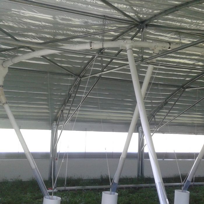 Overhead centreless auger system