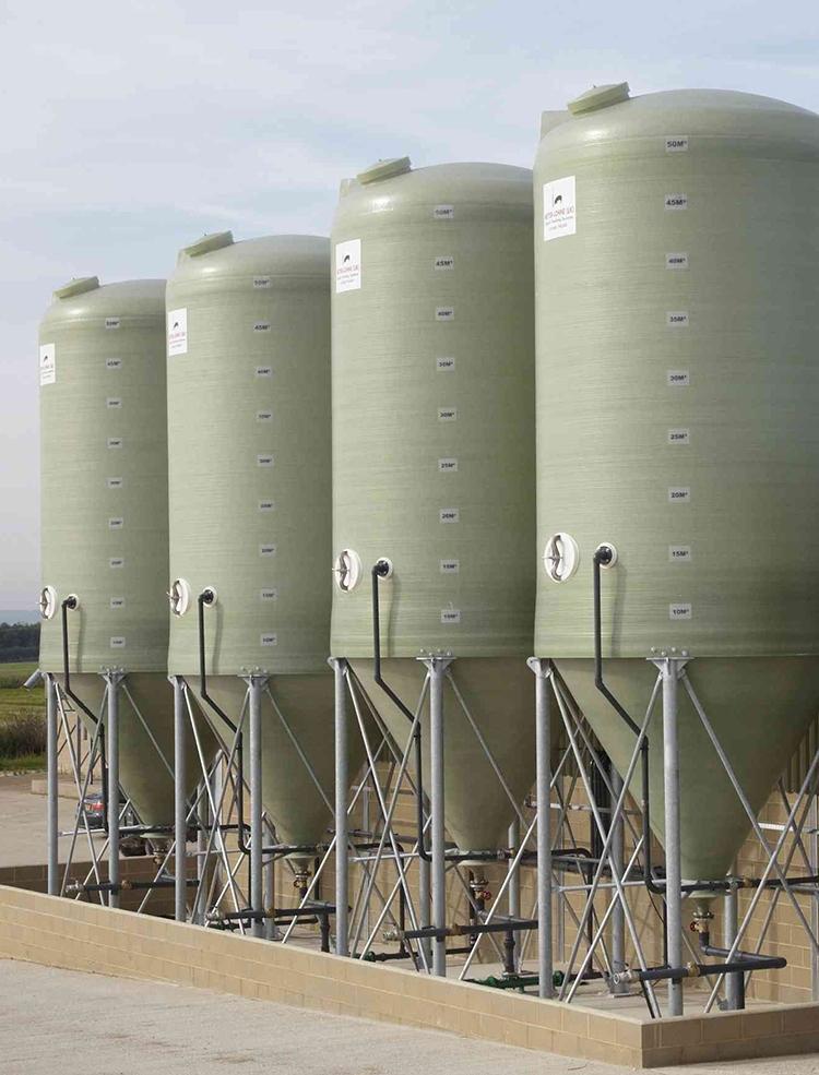 50m³ - 3.35 Ø Conical Bottom Tanks