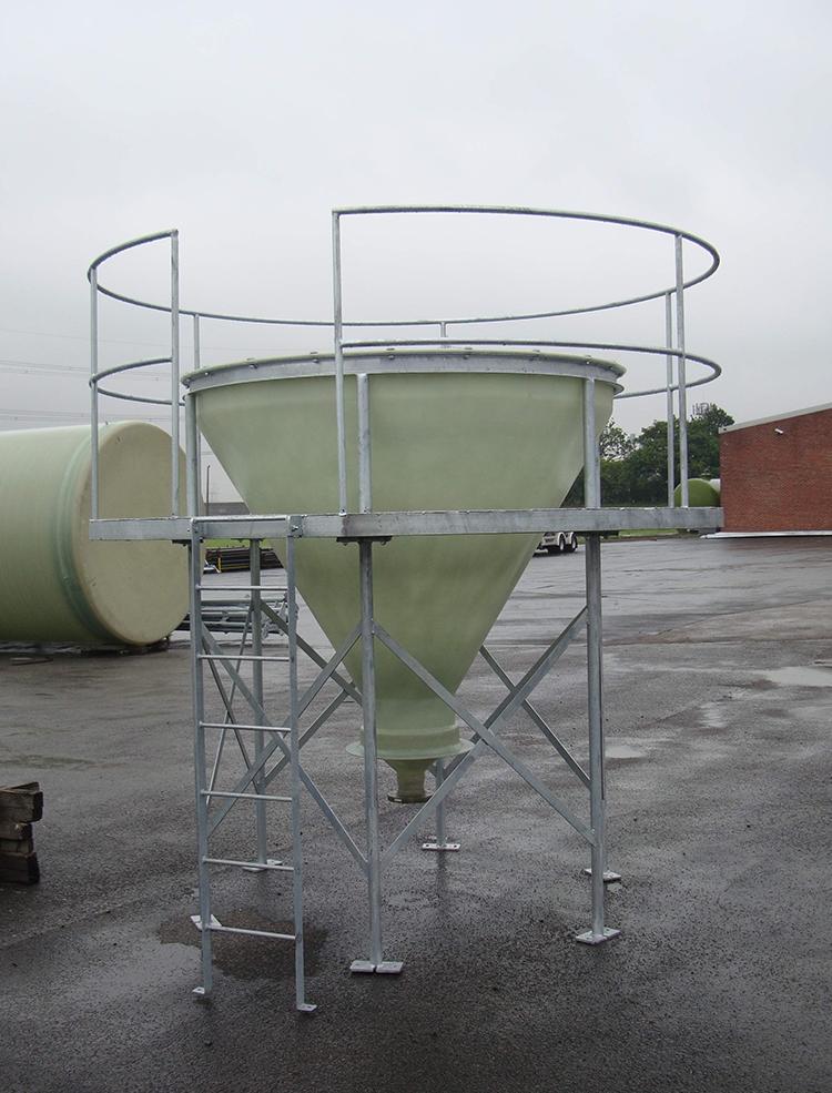 Separation Tank with Viewing Platform