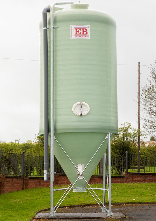 GRP Silos | EB Equipment LTD | Bulk Storage