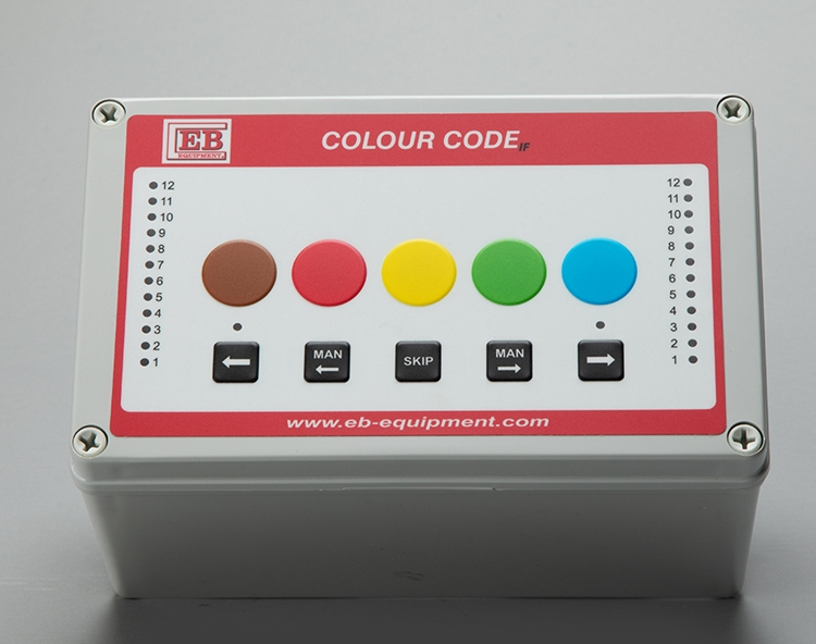 Individual Feeding System (colour code) - Control Panel