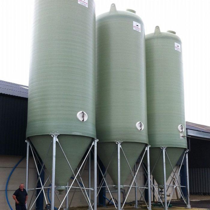 60m³ Conical Bottom Tanks