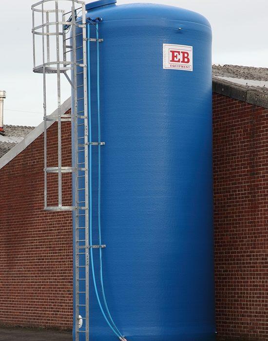 Flat Bottom Tank for Potable Water Storage