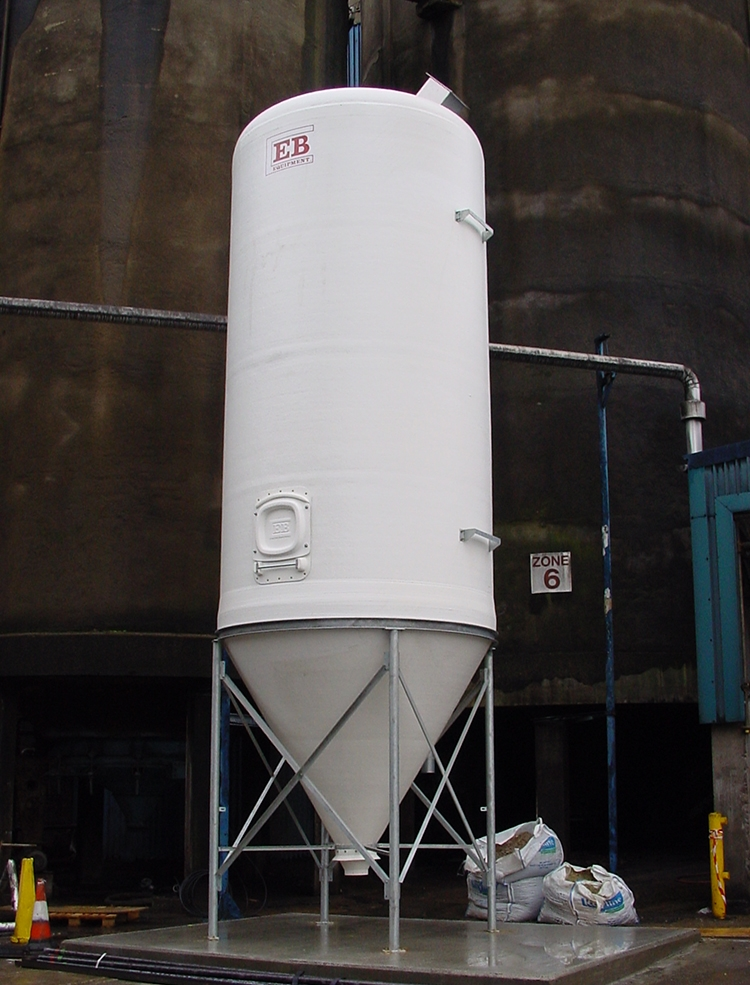 Food Grade Silo - Custom Colour