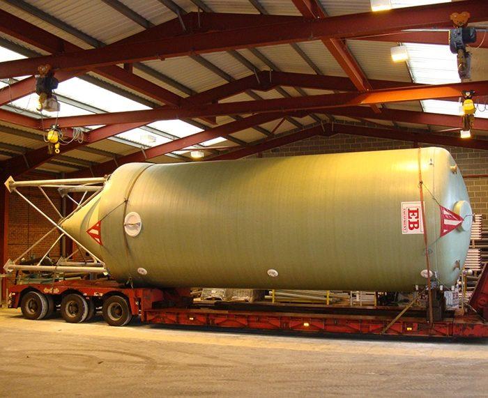 80m³ Conical Bottom Tank