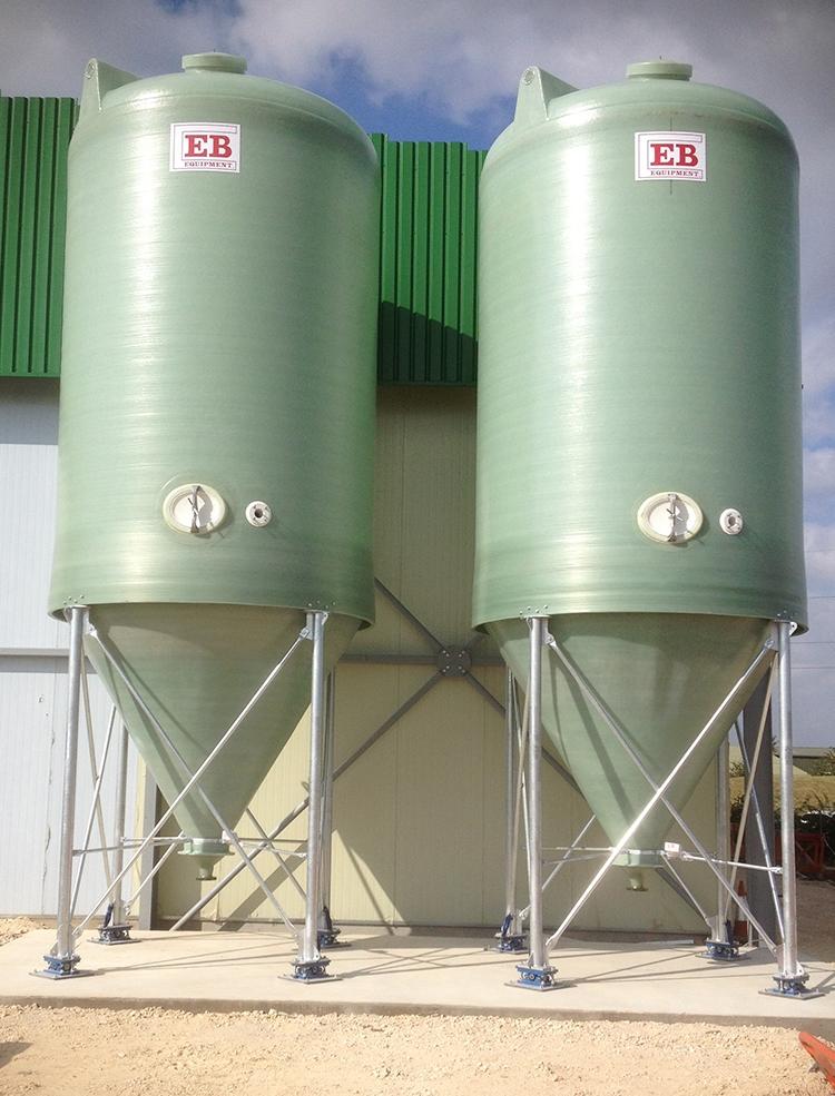 50m³ Conical Bottom Tanks