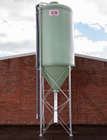 side discharge silo