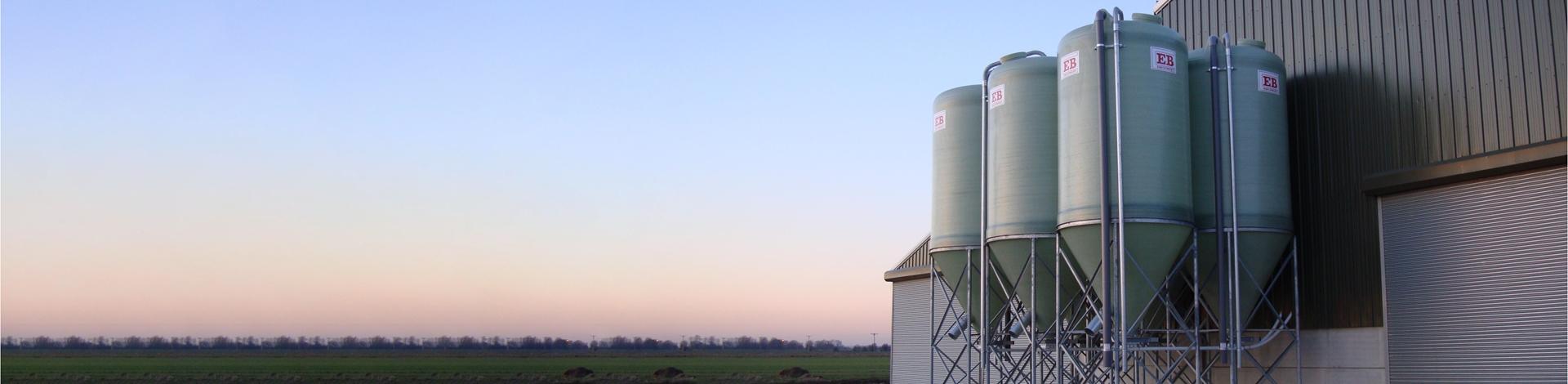 fibreglass silos