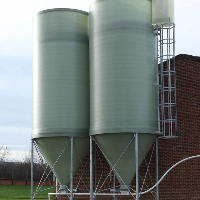 Standard Duty Silo - Plastic Pellet Storage for Extrusion