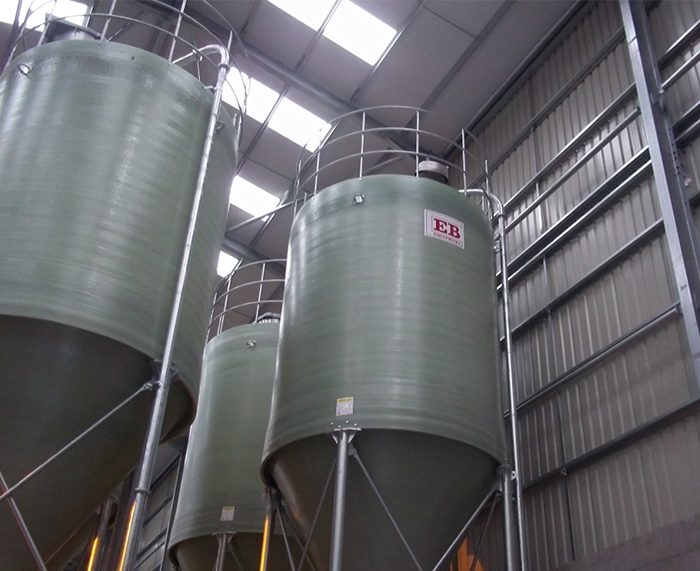 Standard Duty Silos - Mill Production
