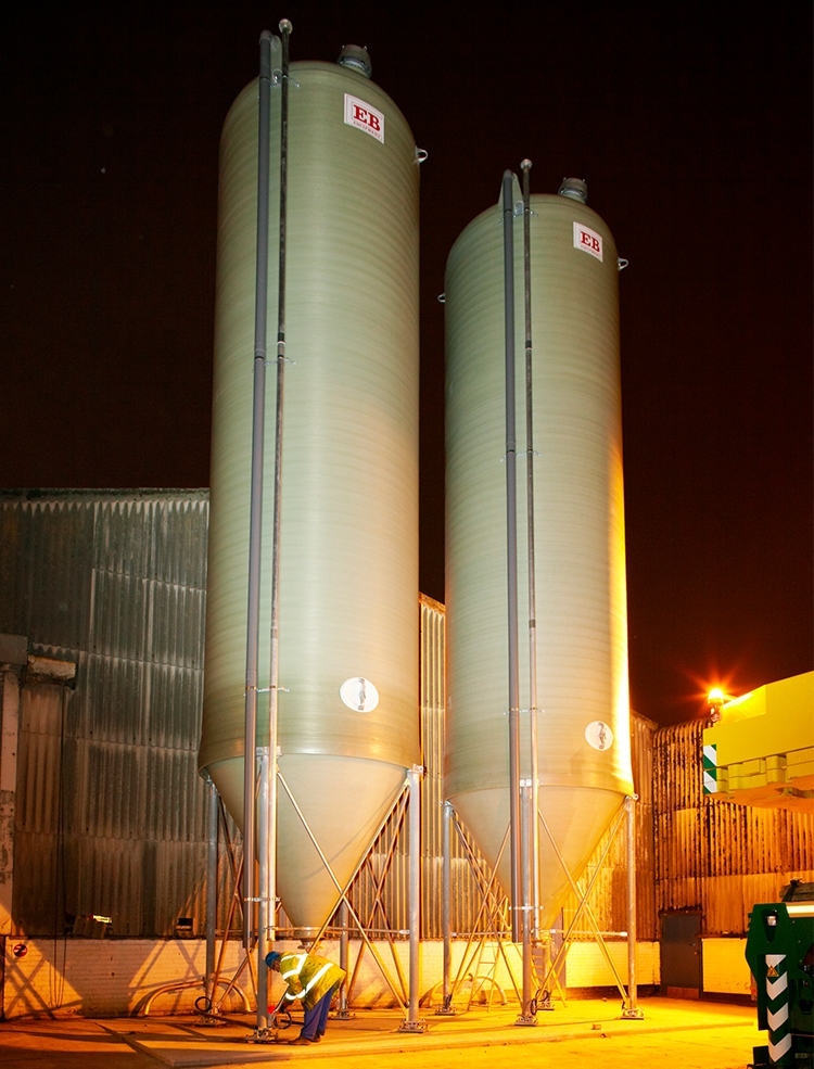 Standard Duty Silo - Oil and Gas Industry