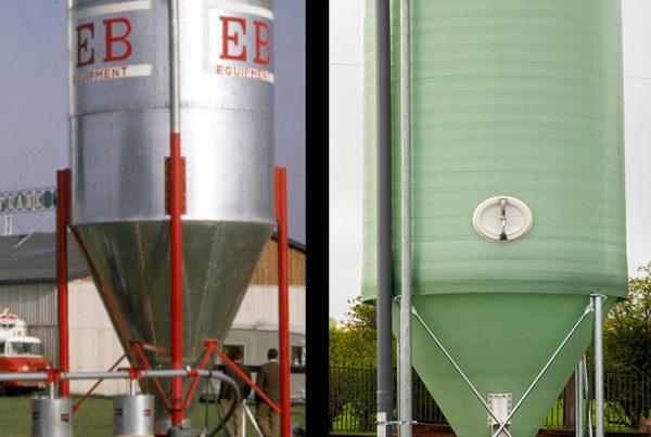 fibreglass vs steel silos